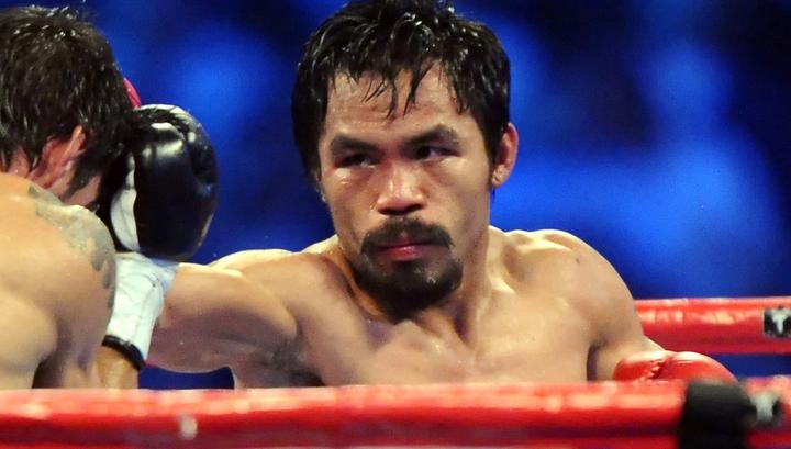 Пакьяо победил Турмана и завоевал титул суперчемпиона мира WBA
