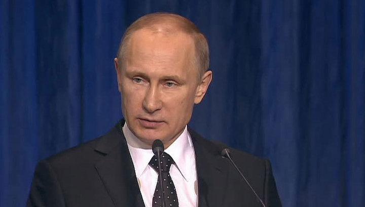 Путин прилетел в Астану
