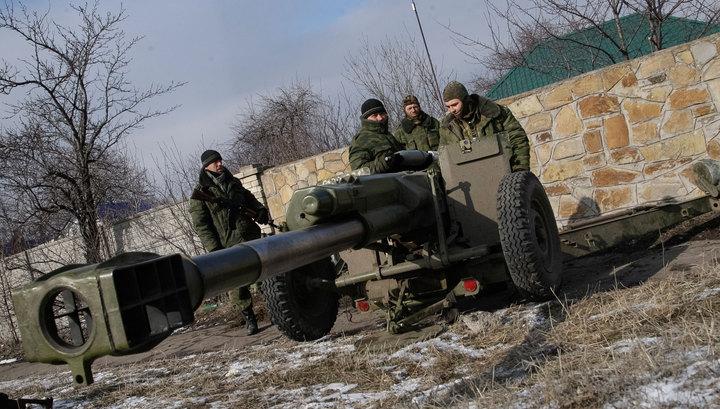 ЛНР отвела больше тяжелой техники, чем предусмотрено Минскими соглашениями
