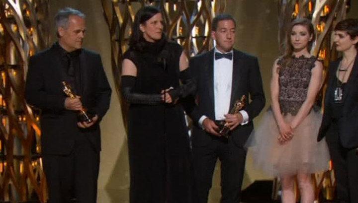 """Вместо Сноудена на вручение """"Оскара"""" приехала его девушка"""