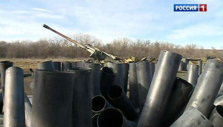 В одностороннем порядке: ополченцы отводят вооружения, а Украина нет