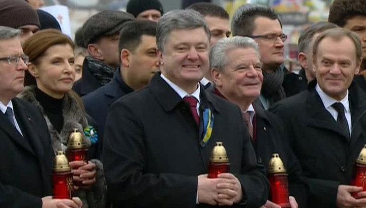 Порошенко в роли историка: князь Владимир основал государство Русь-Украина