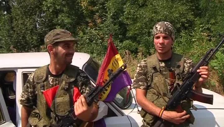 Интербригада: испанские антифашисты отправились на Донбасс помогать ополчению