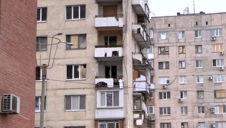 Горсовет Донецка: ночью жители слышали артиллерийские залпы