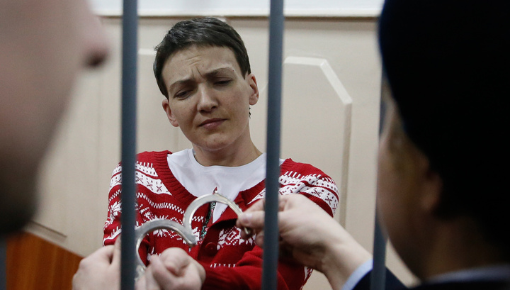 Савченко привезли в новочеркасский СИЗО