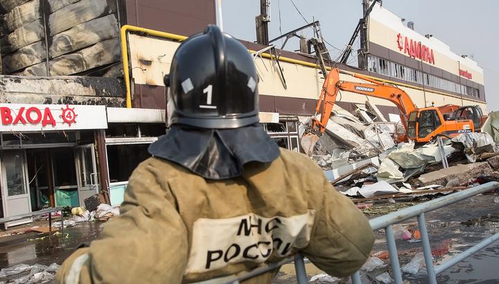 """Пожарных накажут за селфи у горящего """"Адмирала"""""""