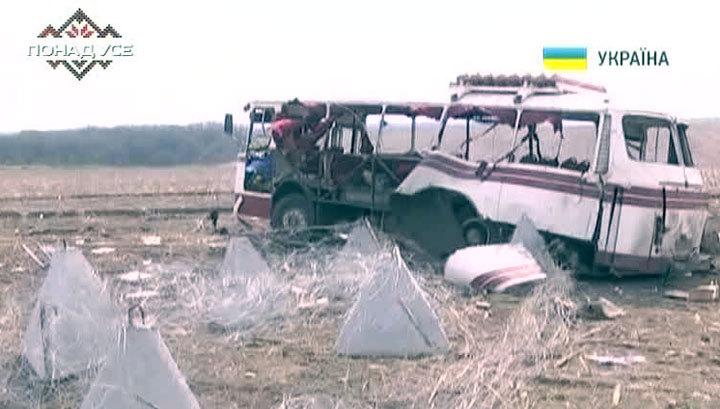 """Подрыв автобуса """"Артемовск-Горловка"""": водитель знал об установленных минах"""