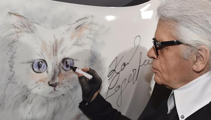 Кошка Карла Лагерфельда заработала 3 миллиона евро за год