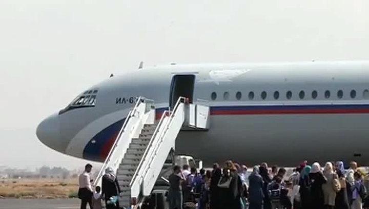 Из Йемена эвакуированы еще 350 россиян и граждан СНГ