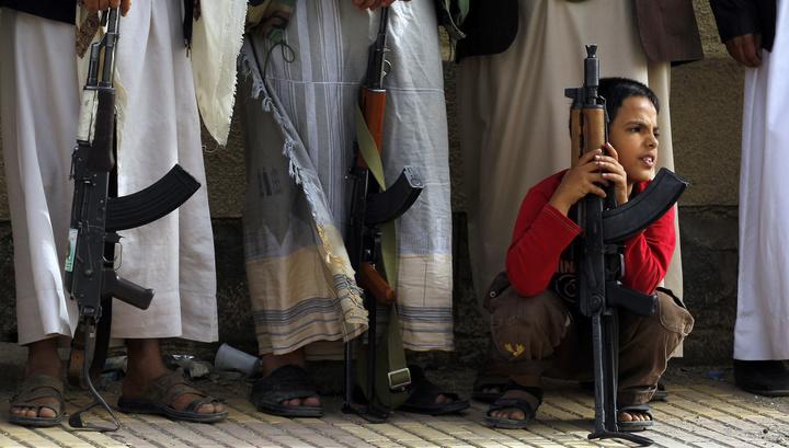 В боях в Йемене участвуют тысячи детей