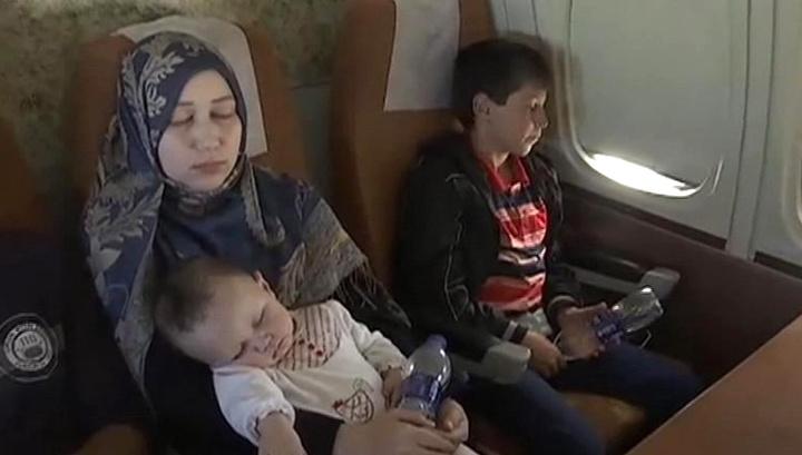 Пятый самолет с беженцами из Йемена приземлился в Подмосковье