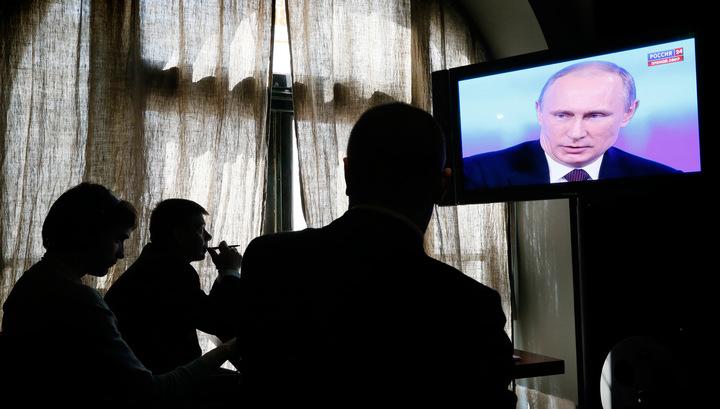 Большинство россиян готовы голосовать за Путина