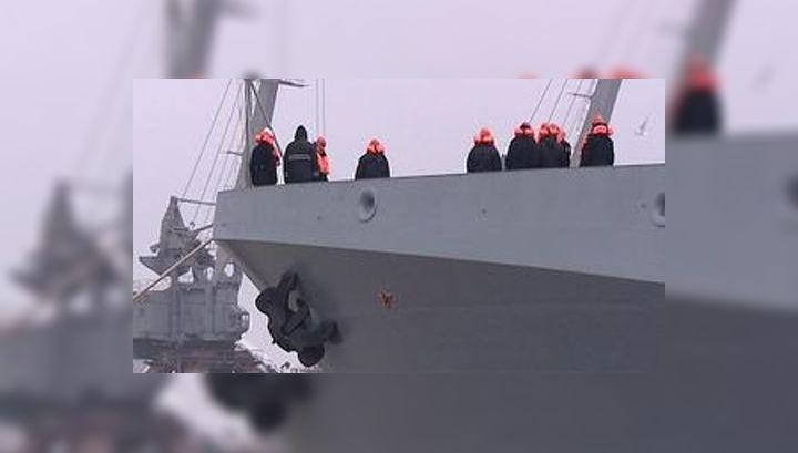 """Боевой корабль """"Адмирал Григорович"""" отправился в Балтийск для испытаний"""