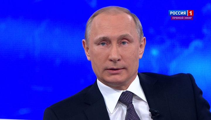 Главные вопросы Владимиру Путину