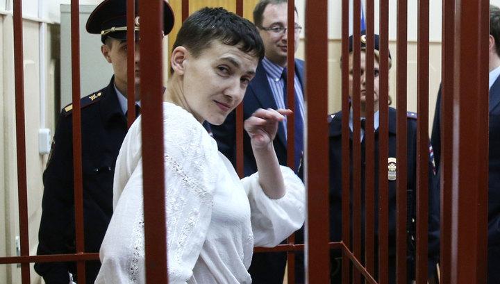 Поить или менять: Савченко начала сухую голодовку