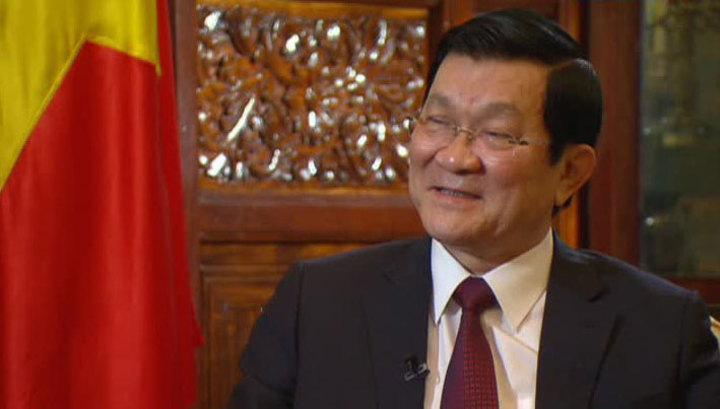 Президент Вьетнама не может не приехать в Москву 9 Мая