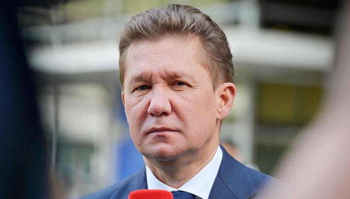 Газовые поставки: Алексей Миллер провел переговоры с премьер-министром Греции