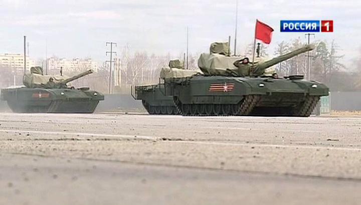 Репетиция Парада Победы: военные отрабатывают последние детали