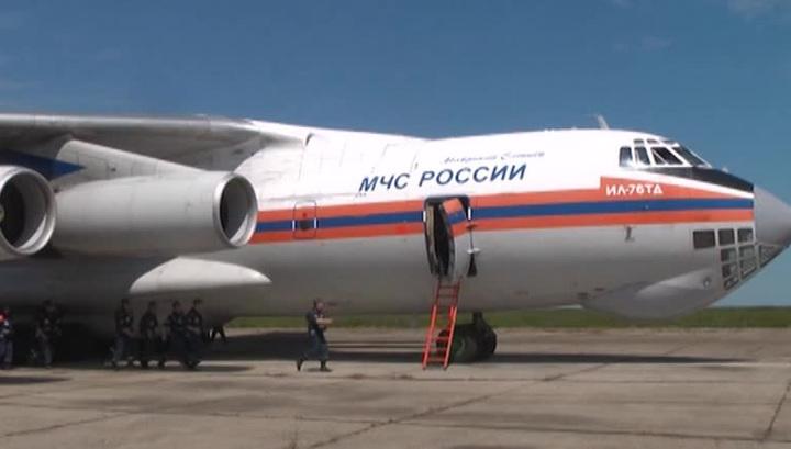 Самолет МЧС из Непала приземлился в Москве