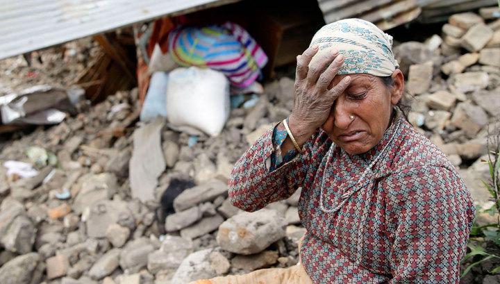 Непал на пороге гуманитарной катастрофы: от стихии пострадали 8 миллионов человек