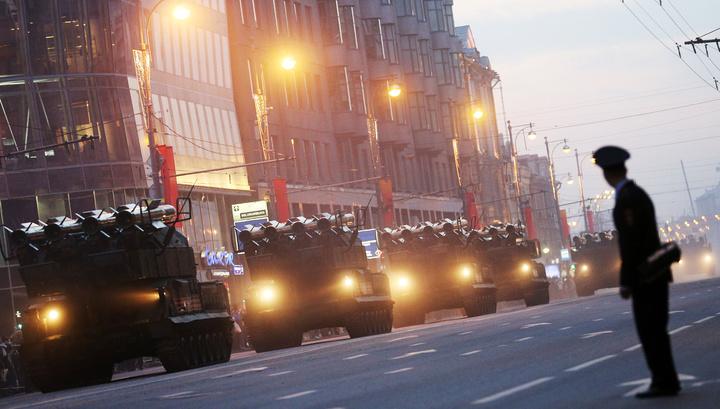 В Москве проходит генеральная репетиция Парада Победы