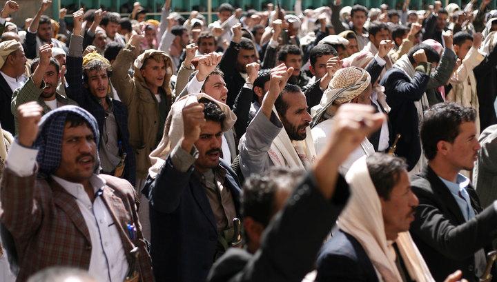 В Йемене тысячи человек протестуют против арабской интервенции