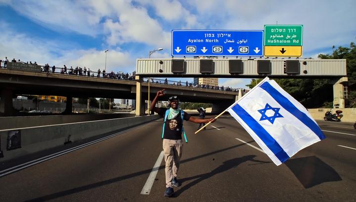 В Тель-Авиве акция протеста выходцев из Эфиопии переросла в беспорядки