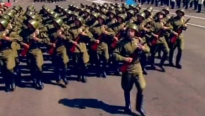 Парад в Астане стал самым масштабным в истории Казахстана