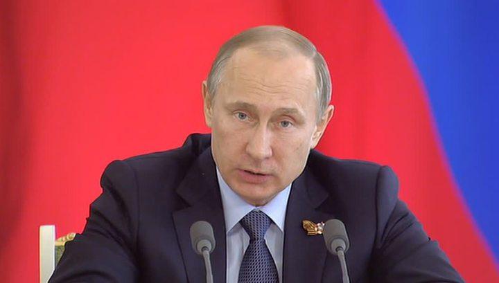 Путин приказал готовить к выпуску новую технику с Парада Победы