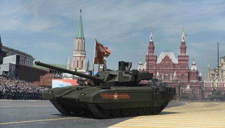 """Не ту кнопку нажали"": Рогозин раскрыл причину остановки танка ""Армата"""