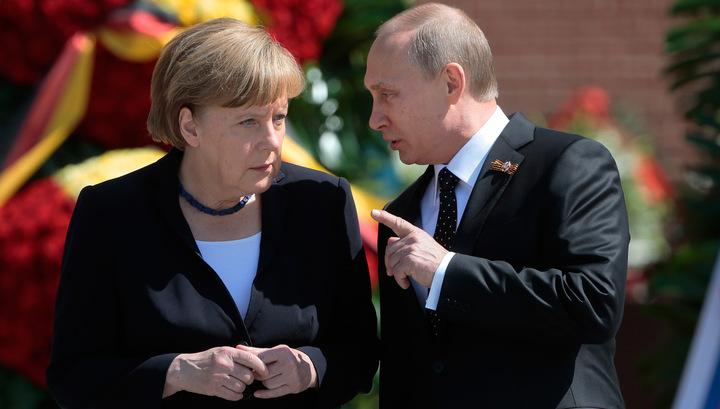 Путин возьмет выходной после встречи с Меркель