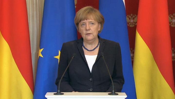 Меркель: ЕС и Россия должны сблизиться