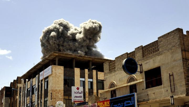 В небе над Йеменом сбит истребитель F-16 ВВС Марокко