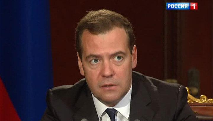 """Медведев о космических авариях: уронил """"Протон"""" - заплати рублем"""