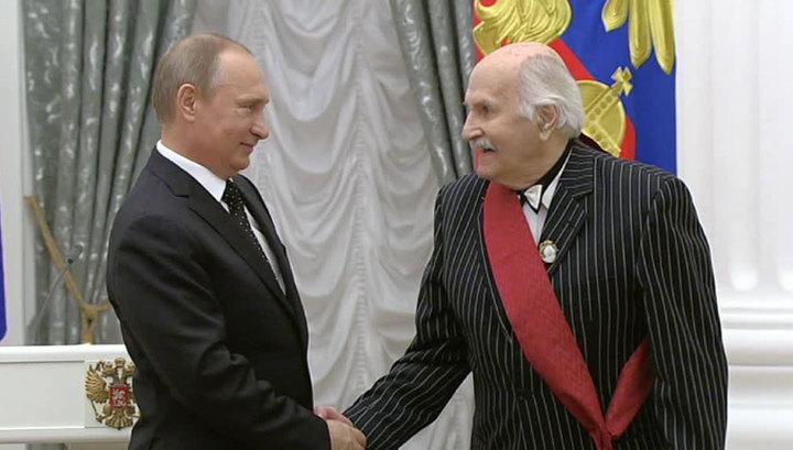 Путин вручил государственные награды в Кремле