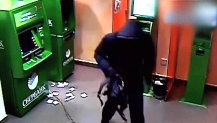 Схема видео банкомата