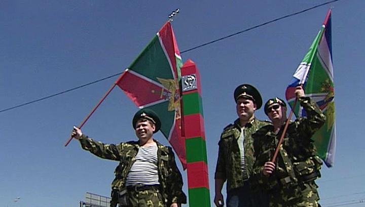В России отмечается День пограничника