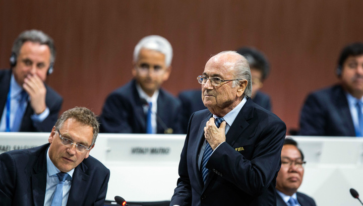 Йозеф Блаттер избран президентом ФИФА на пятый срок