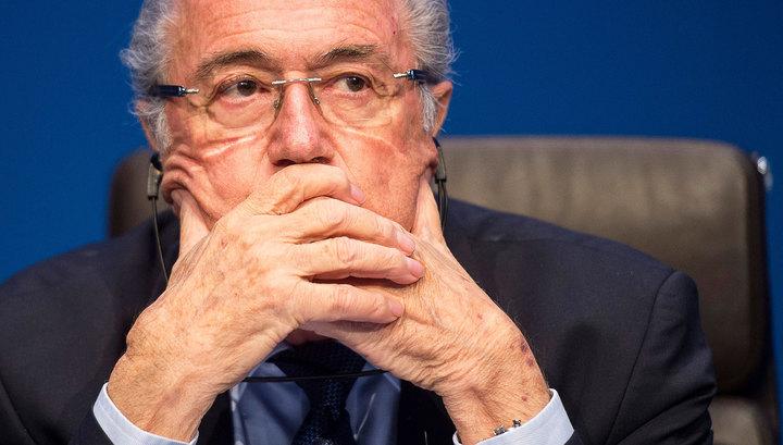 Блаттер пробыл переизбранным президентом ФИФА всего четыре дня