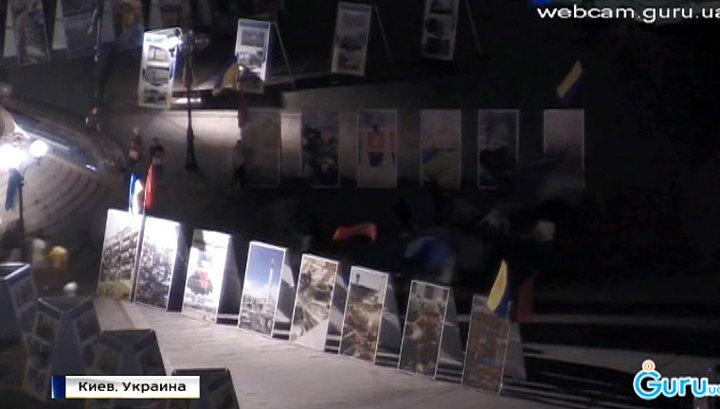 Разгон третьего Майдана: Порошенко обзавелся собственными титушками