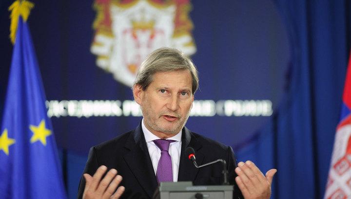 Еврокомиссар напомнил Зеленскому об огромных долгах Украины