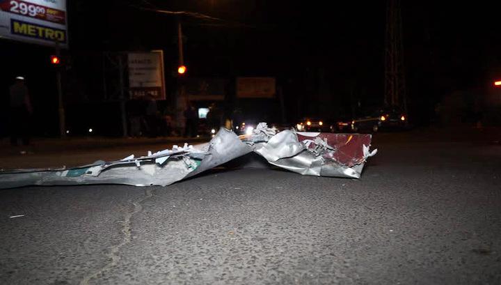 В центре Одессы прогремели два взрыва
