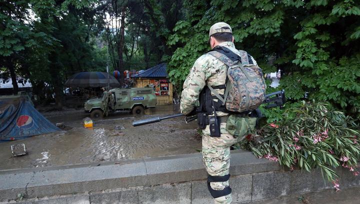 Спецназовцы застрелили в голову белого льва в зоопарке Тбилиси