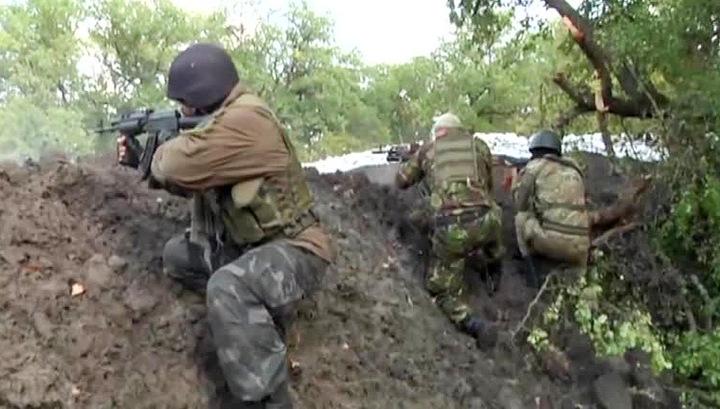 Готовится штурм базы украинских милиционеров-садистов