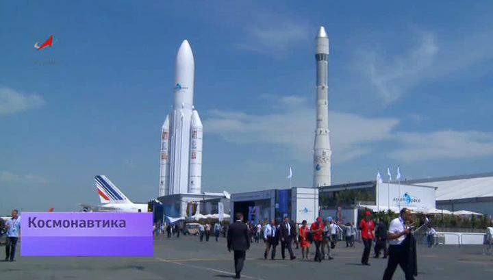 Русский космос в Ле Бурже