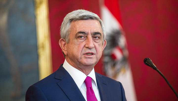 Президент Армении: карабахская проблема решается только путем взаимопонимания