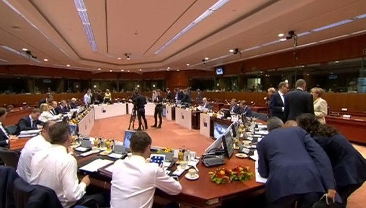 Страны ЕС впервые вышли с заявлением, подписанном не всеми