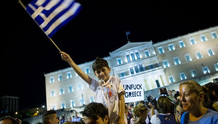 Германия предложила на пять лет исключить Грецию из ЕС
