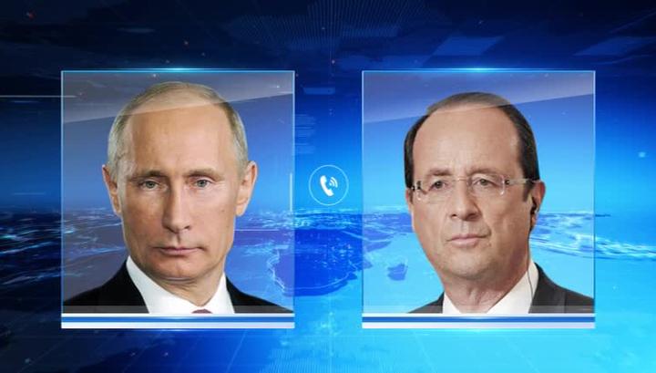 Путин и Олланд обсудили итоги греческого референдума и ситуацию в Еврозоне