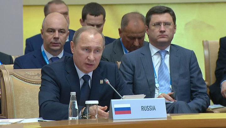 Путин: инвестиции в экономики стран БРИКС растут